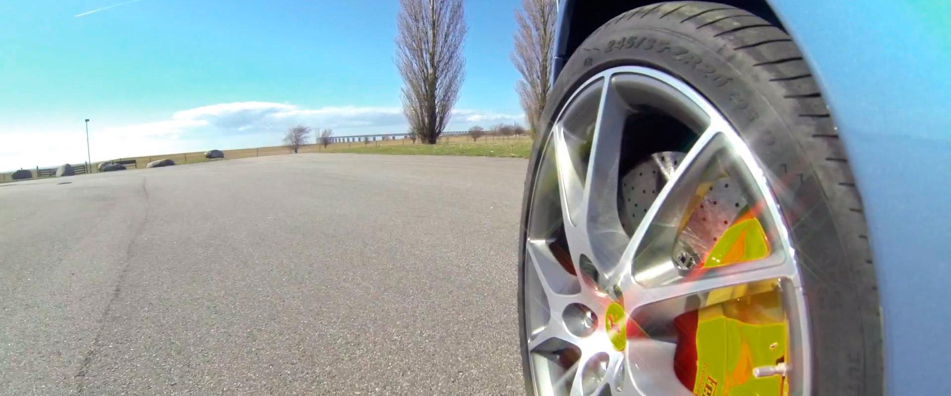 Ferrari mount with added bling.