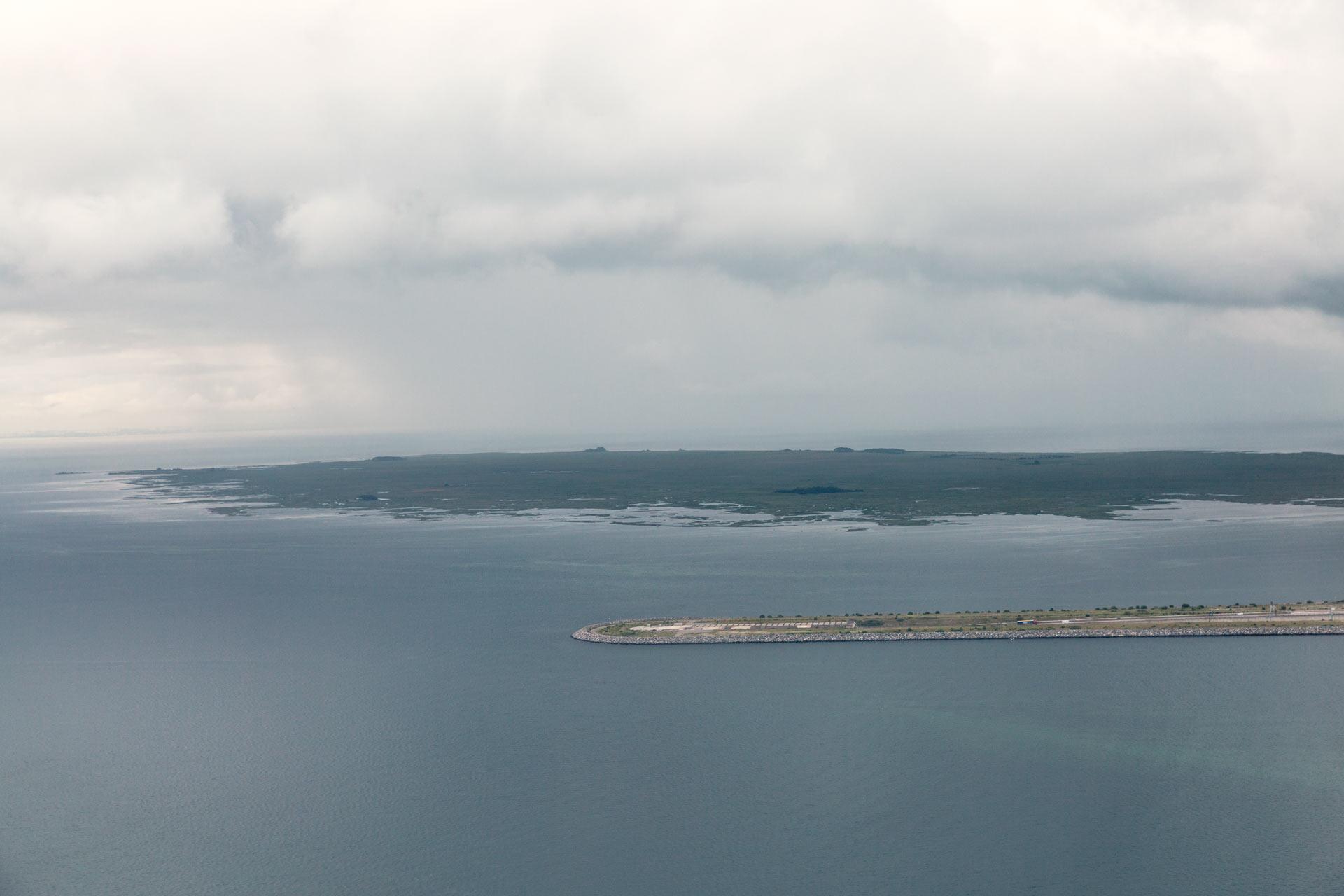 Øresundstunnelen, 4 km long.