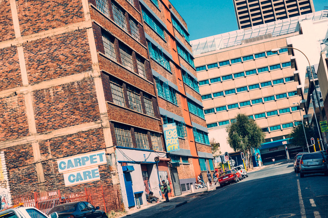 Downtown Johannesburg.