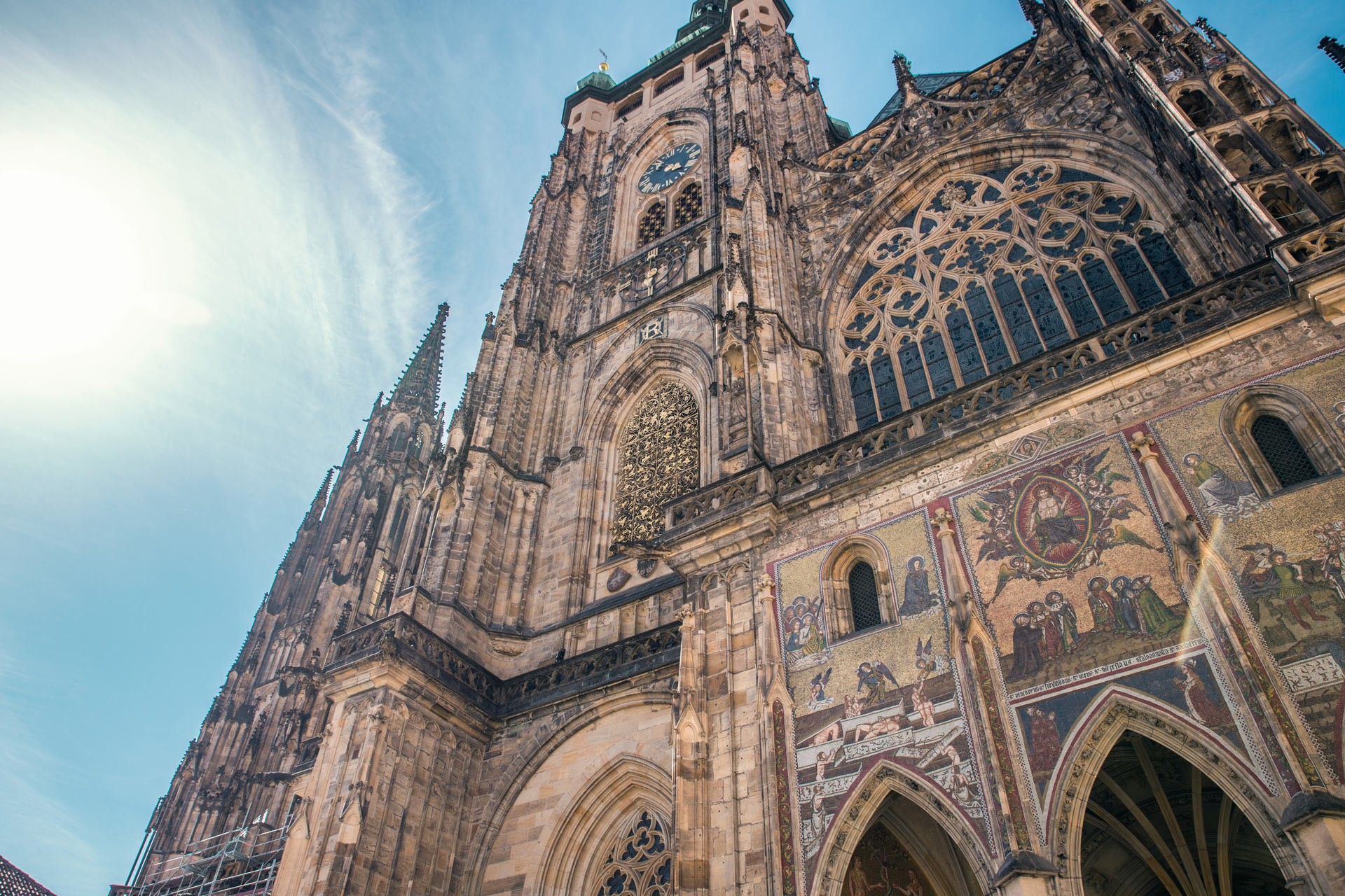 The Prague Castle is the largest ancient castle in the world.