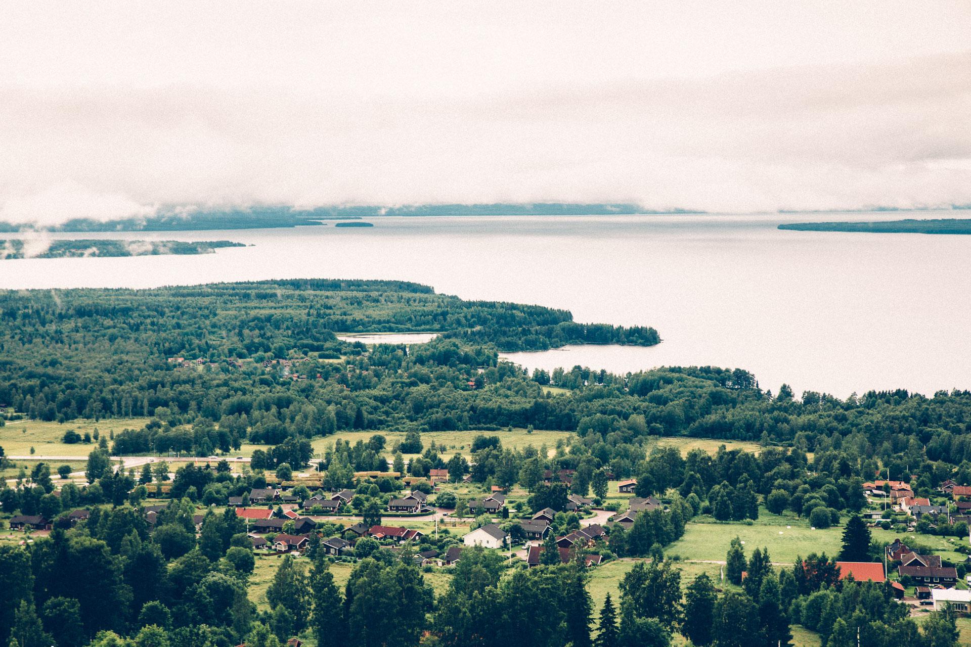 Overlooking Rättvik.