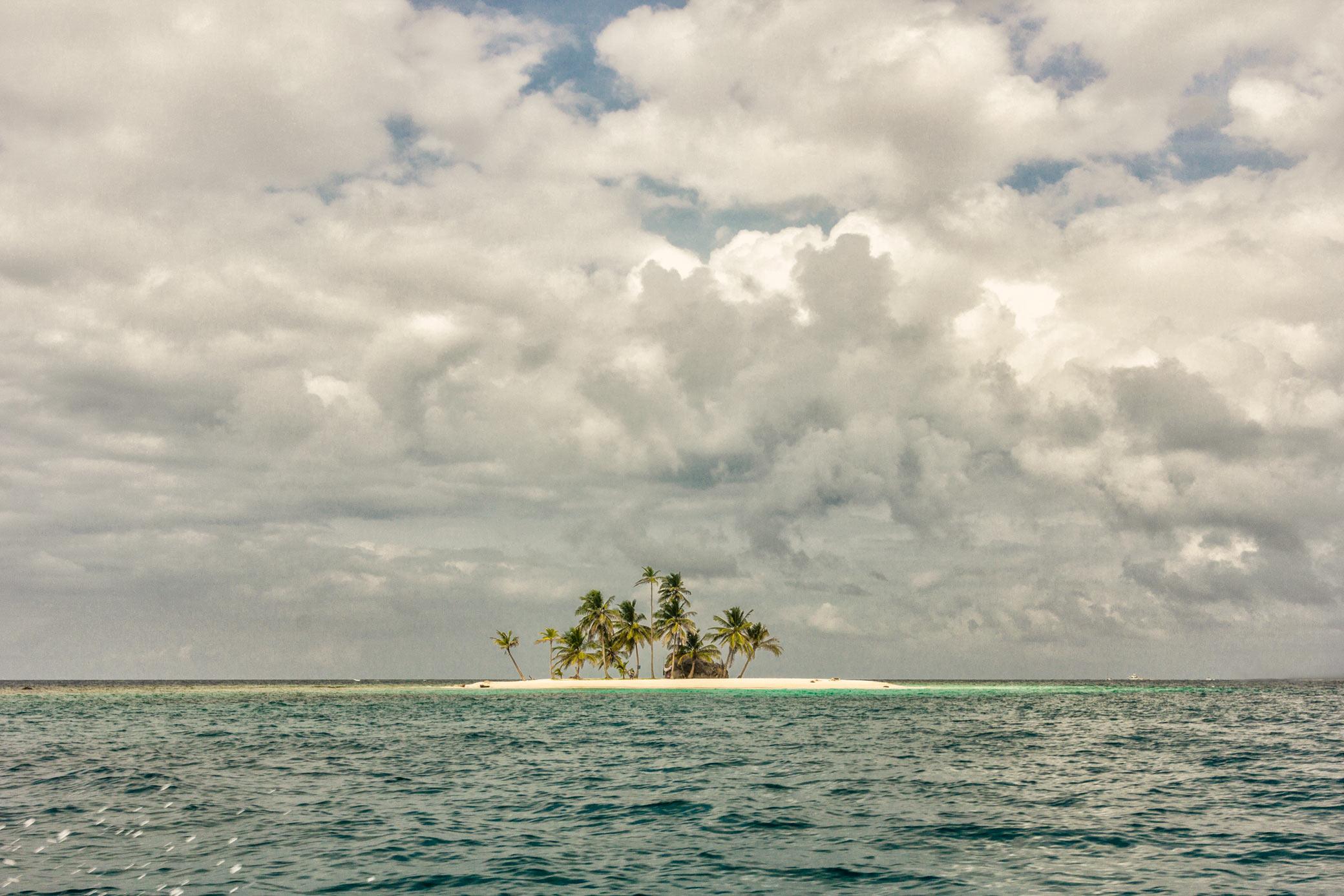 Øerne varierer meget i størrelse.