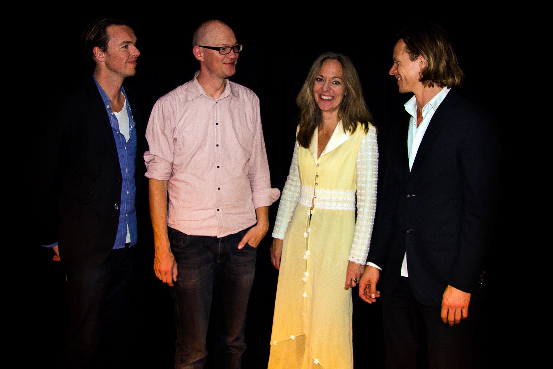 Morten Ankarfeldt, Mads Søndergaard, Ninna Milner & Janus Templeton