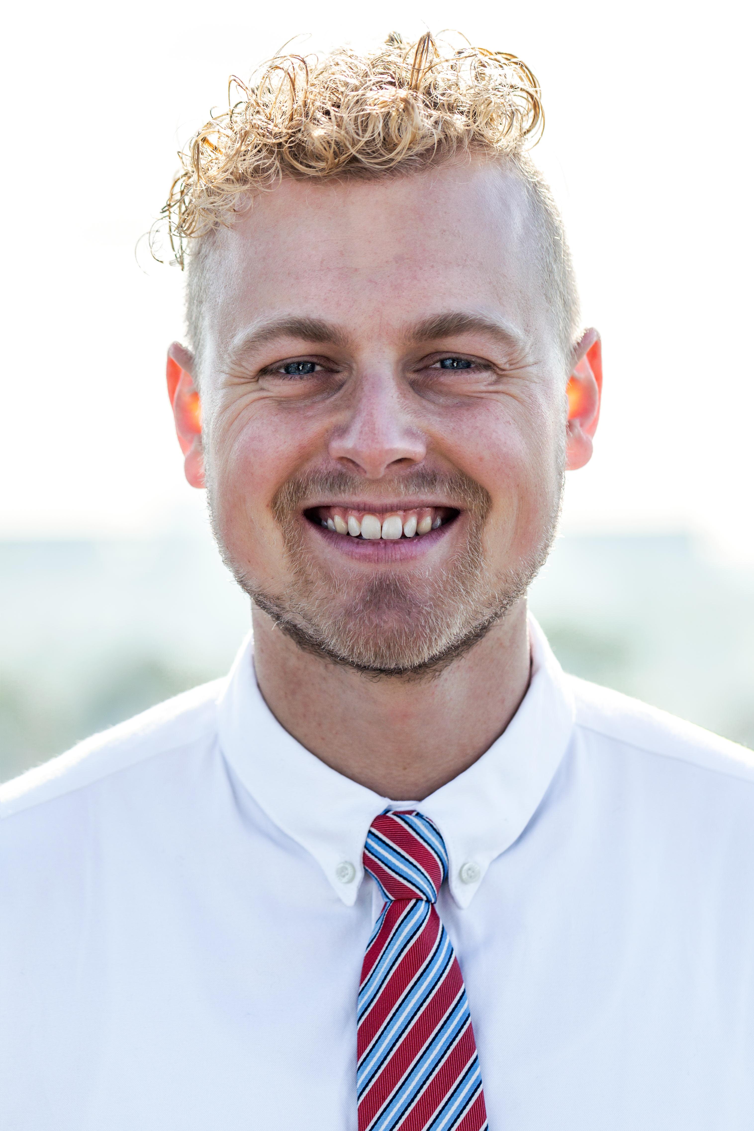 Portrait of Jon in Copenhagen
