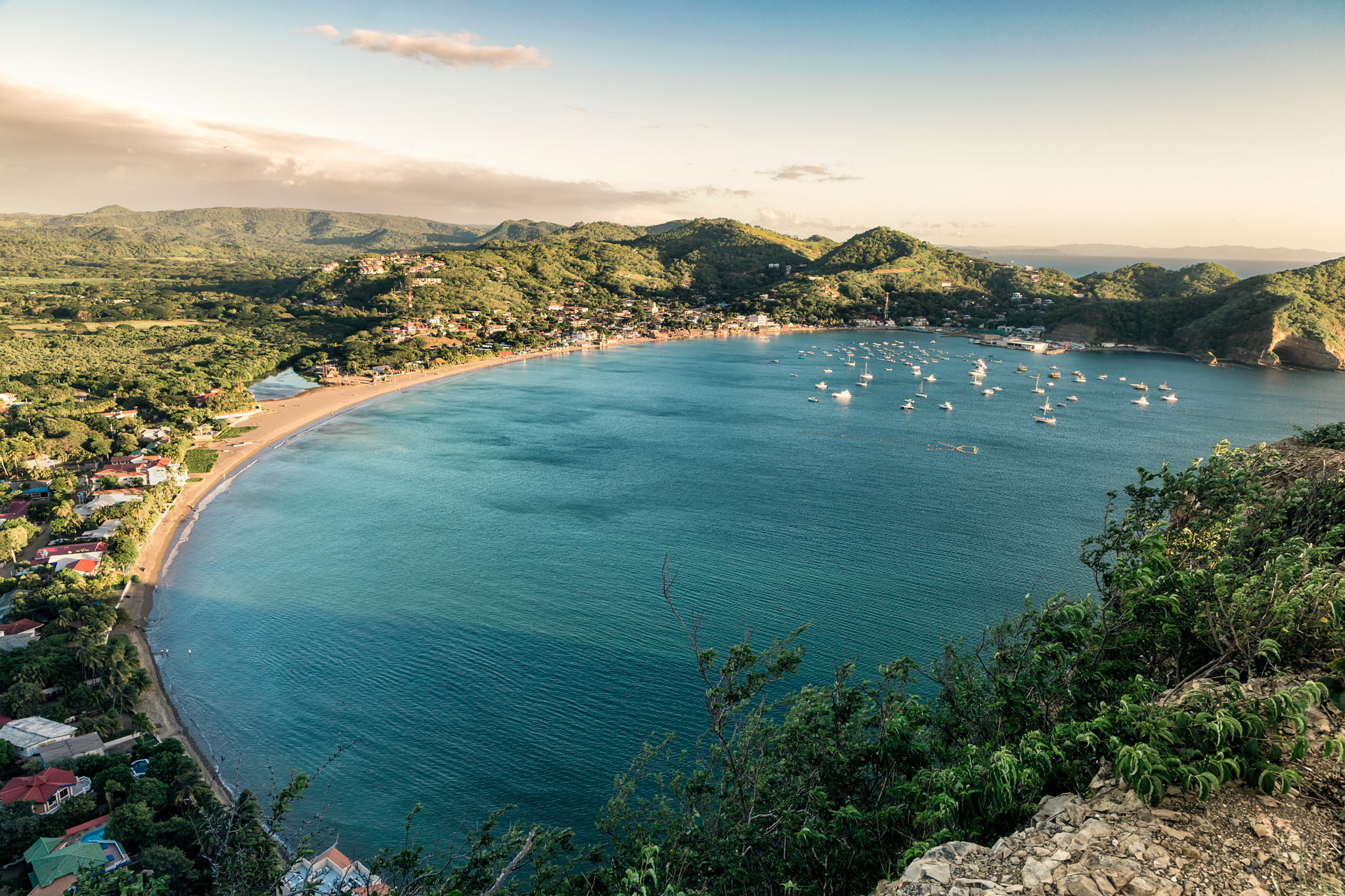 Bay of San Juan del Sur.