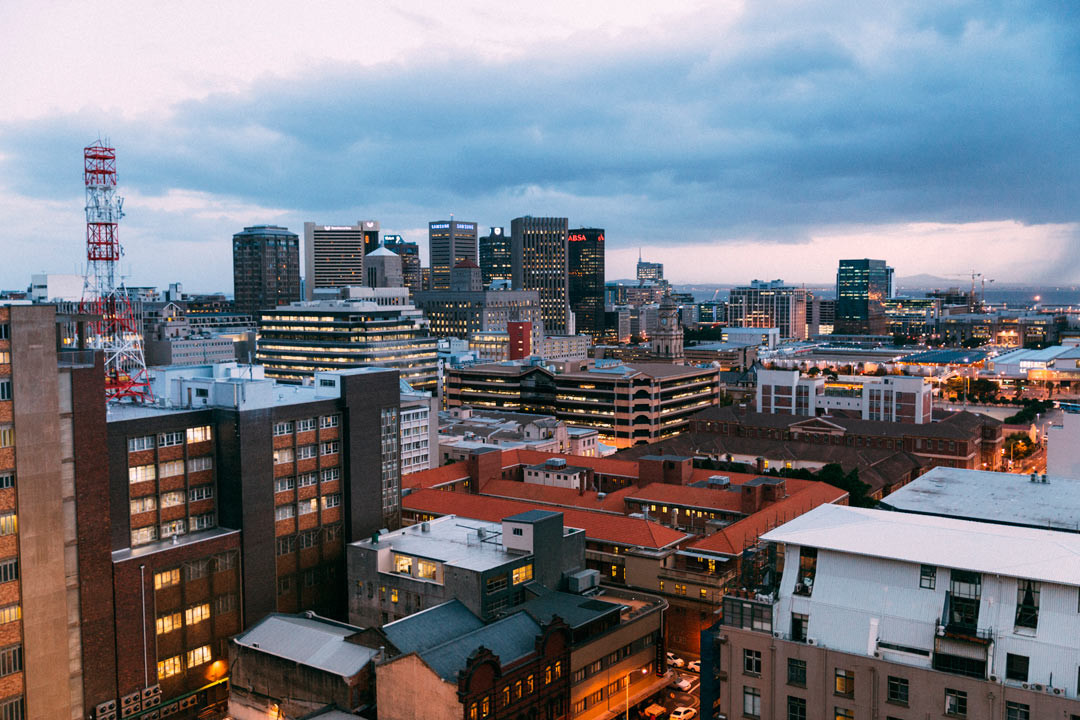 Cape Town skyline.