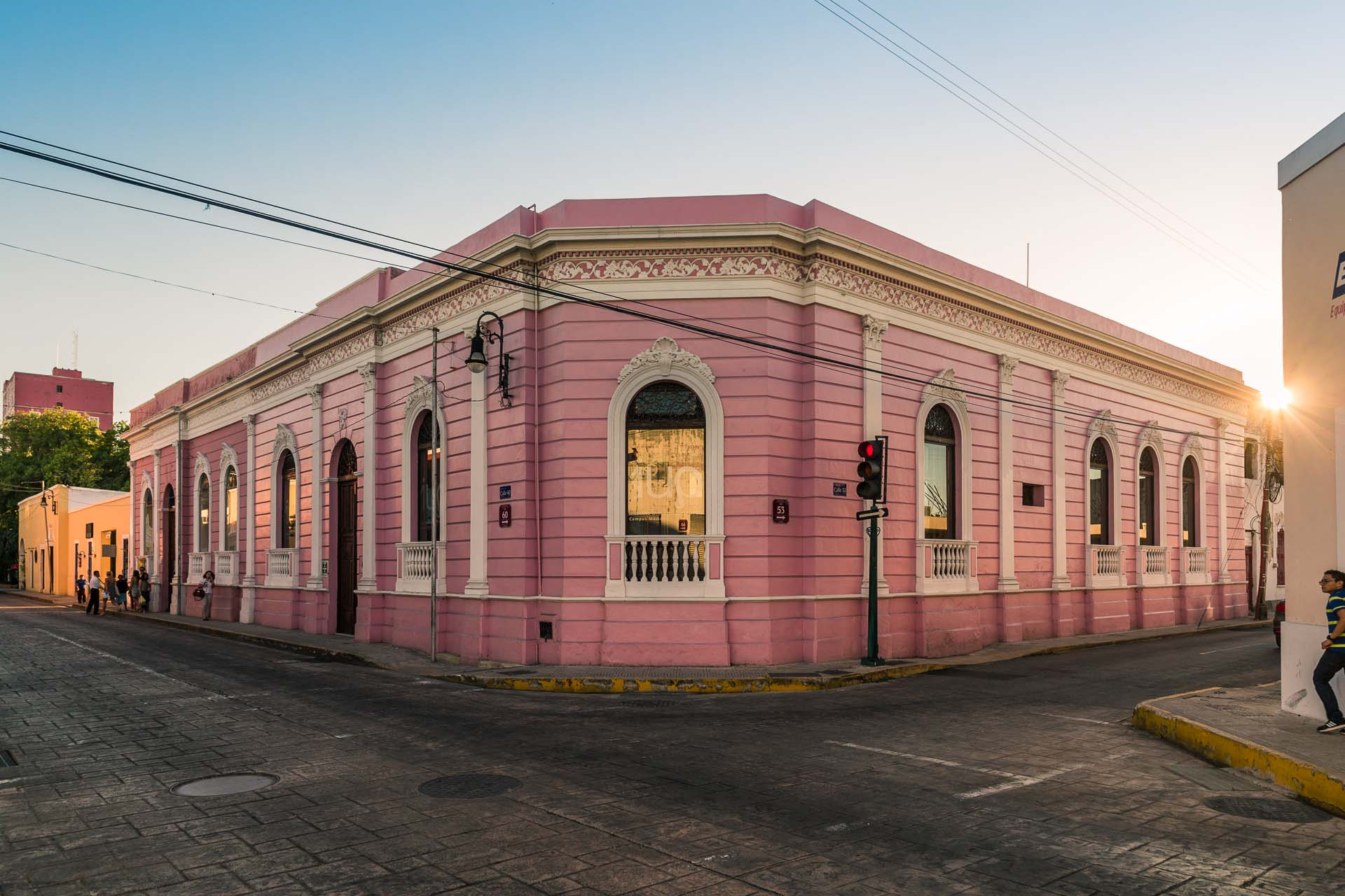 Next stop: Mérida, the largest city of the Yucatán Peninsula.