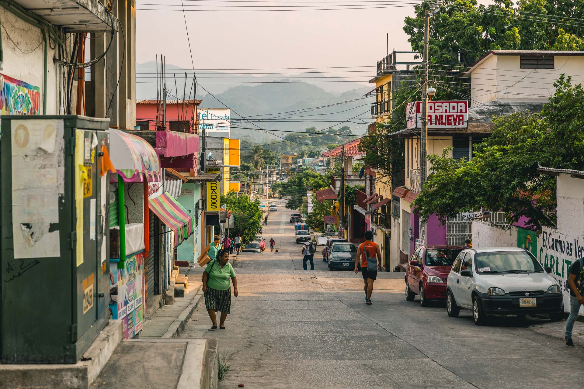 The city of Palenque was also quite cozy with lots of great food, sunny weather and pretty views.