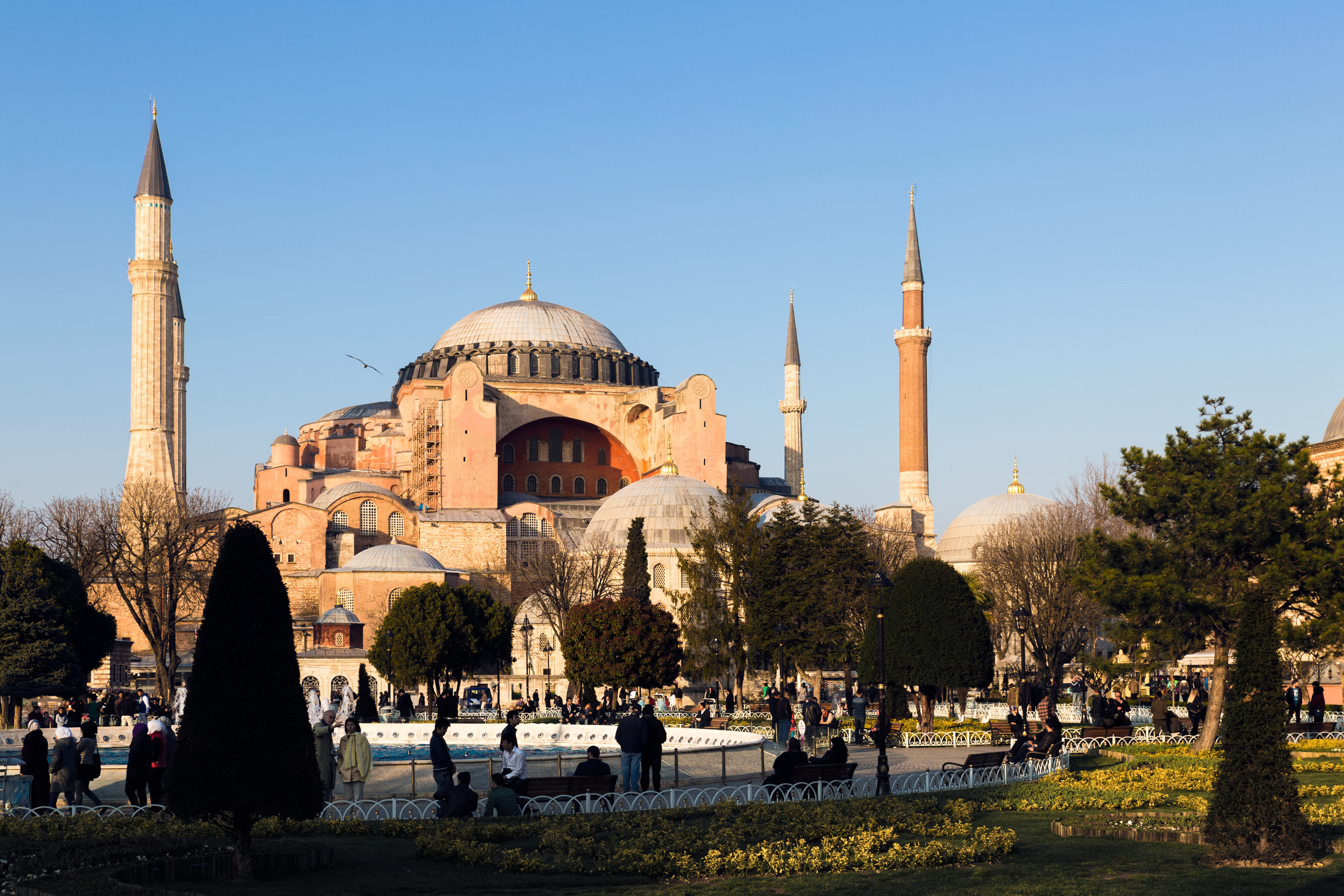 Splendid Hagia Sophia in the afternoon.