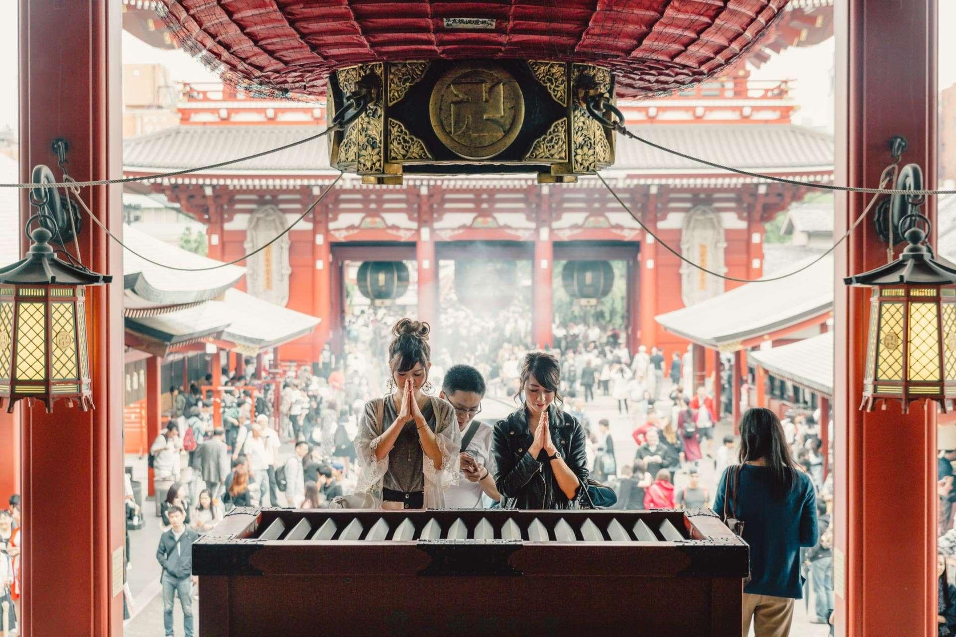 Sensō-ji, Tokyos ældste tempel.